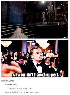 Ahahahahah poor Leo XD