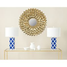 Safavieh Royal Leaf Sunburst Antique Gold Mirror ($112) ❤ liked on Polyvore featuring home, home decor, mirrors, gold, sunburst mirror, leaf home decor, antique gold mirror, safavieh and sun burst mirror