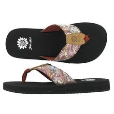 Totally love these yellow box flamingo flip flops! these are the best!