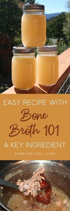 Bone Broth 101 for Easy Traditionally Prepared Homemade Bone Broth Real Food Recipes, Soup Recipes, Keto Recipes, Healthy Recipes, Healthy Soups, Crockpot Recipes, Free Recipes, Beef Bone Broth, Recipes