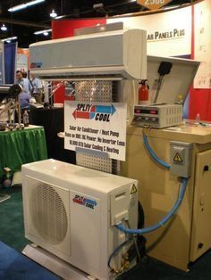 World's First Solar Energy DC Air Conditioning System