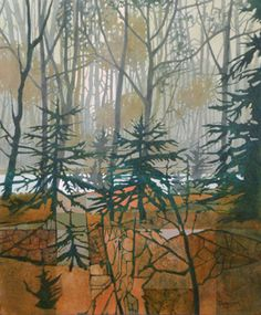 Judith Bergerson | Morning Mist. Acrylics