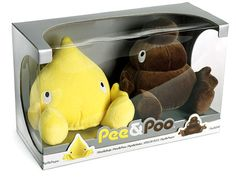 "Potty humor:  Introducing ""Pee & Poo"", the plush toys that you never wanted"