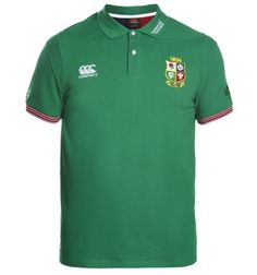 British & Irish Lions 2017 Cotton Training Polo Shirts Green A stylish polo celebrating the 2017 Lions tours. This training shirt which is also ideal for casual wear does not disappoint in comfort or looks.