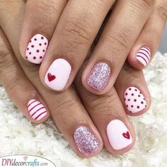 Cute for Valentines - White and Red
