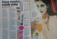 Glamour Magazine recommends our Rescue Clay Mask - March. Glamour Magazine, Clay Masks, Moisturiser, Make It Simple, March, Mars
