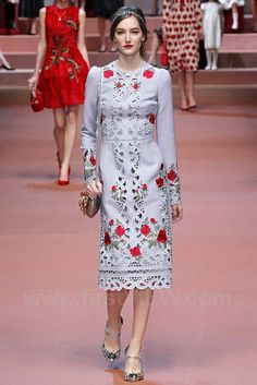 Dolce & Gabbana, Fall 2015, Milan, firstVIEW.com