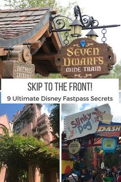 Secrets Skipping the line at Walt Disney World isn't just a dream with these top nine Disney fastpass secrets!Skipping the line at Walt Disney World isn't just a dream with these top nine Disney fastpass secrets! Disney World Resorts, Fastpass Disney World, Disney World Fotos, Viaje A Disney World, Disney World Tipps, Disney World Secrets, Disney World Vacation Planning, Disney World Florida, Disney Planning