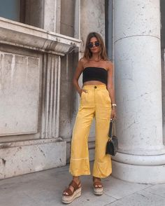 top summer outfits — green and yellow make you cool 7 ~ my. - top summer outfits — green and yellow make you cool 7 ~ my. Fashion Mode, Look Fashion, Womens Fashion, Fashion Trends, Fashion Fashion, Fashion Quiz, Fashion Ideas, Spain Fashion, Fashion Quotes