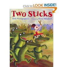 "Two Sticks ""Maybelle wanted some drum, a kettle, snare, not humdrum, a drum-dee-dum-dee-dum drum, oh, any funky fun drum!"""