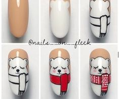 nail art tutorials you NEED in your festive life – Hey-Cinderella Loading. nail art tutorials you NEED in your festive life – Hey-Cinderella Diy Christmas Nail Art, Christmas Tree Nails, Xmas Nail Art, Holiday Nail Art, Xmas Nails, Winter Nail Art, Christmas Nail Designs, Winter Nails, Disney Christmas Nails