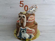 cake for men for 50 years Cakes For Men, Birthday Cake, Desserts, Tailgate Desserts, Deserts, Birthday Cakes, Postres, Dessert, Cake Birthday
