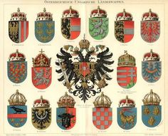 chromo litho coat of arms - Google Search