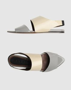 MARNI Sandal - extra coverage for an older foot. Love these, goes with everything.