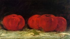 Red Apples by Gustave Courbet