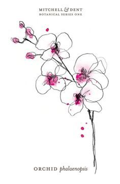 Image result for orchid tattoo