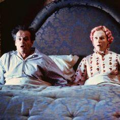 """Glenn Close y Jack Nicholson en """"Mars Attacks!"""", 1996"""