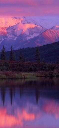Wonder Lake ~ Denali National Park ~ Alaska