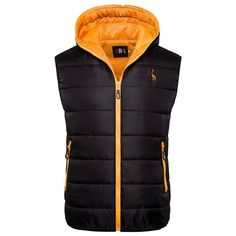 New Giraffe Brand Winter Jacket Men Hoodied Vest Men Zipper Mens Jacket Sleeveless Casual Winter Waistcoat Men sold by Bishoo. Shop more products from Bishoo on Storenvy, the home of independent small businesses all over the world. Winter Vest, Casual Winter, Winter Jackets, Men Casual, Waistcoat Men, Vest Men, Dapper Men, Summer Sale, Vest Jacket