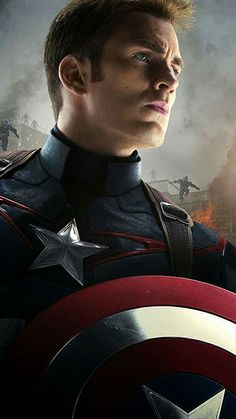Captain America - Tap to see Avengers: Age of Ultron Apple iPhone HD Wallpapers Collection - marvel hero Avengers Quotes, Hulk Avengers, Avengers Movies, Marvel Characters, Spiderman, Capitan America Marvel, Capitan America Chris Evans, Chris Evans Captain America, Steve Rogers