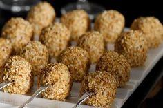 Μπαλάκια φέτας με ρίγανη και σουσάμι - Συνταγές | γαστρονόμος