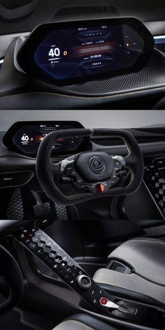 Digital Dashboard, Dashboard Car, Dashboard Design, Car Interior Design, Automotive Design, Ui Design, Lotus, Car App, Aircraft Interiors