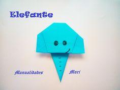 Origami - Papiroflexia. Cara de elefante, muy fácil