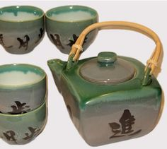 ceramic teapot and cups - Google Search