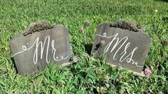 Hey, I found this really awesome Etsy listing at https://www.etsy.com/listing/245211296/mr-mrs-signs-self-standing-sweetheart