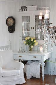 VIBEKE DESIGN: En lun plass i hvitt !