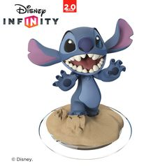 Stitch 'Disney Infinity' figurine : Made of plastic. We're celebrating 40 years of selling Disney-only Collectables and Souvenirs, come join us Stitch Disney, Lilo And Stitch, Pop Marvel, Disney Infinity Characters, Disney Characters, Figuras Disney Infinity, Wii U, Figurine Disney, Image 3d