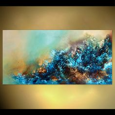 Meeresgischt++von+Kunstgalerie-Natalie-Fedrau+auf+DaWanda.com