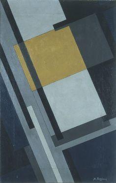 "Mauro Reggiani - ""Composizione"", 1934. Olio su tela, cm 70 x 50  Mart, VAF Stiftung"
