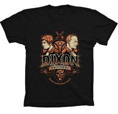 DIXON BROTHERS THE WALKING DEAD T SHIRT from casualshirt by DaWanda.com