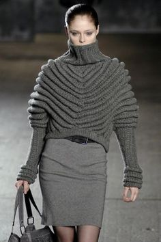charcoal knits for Fall. ♥✤