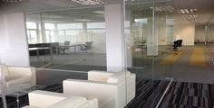 office #glass #partition services in GXI Group London.
