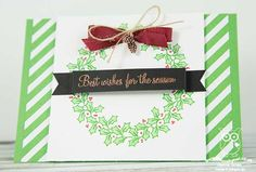 The Crafty Owl | Holly Berry Happiness Wreath Catalogue CASE