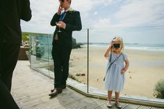 Emma + Adam. Watergate Bay Hotel, Newquay, photographed by Abi Neda Riley
