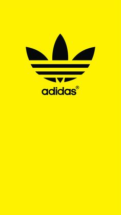 Wallpaper Samsung, Phone Wallpaper Design, Real Madrid Logo Wallpapers, Adidas Backgrounds, Love Wallpapers Romantic, Yellow Adidas, Cute Kids Pics, Colorful Wallpaper, New Quotes