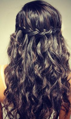 Stylish Braids for Curly Hair