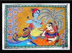 peacock in madhubani paintings - Google Search