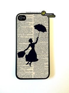 Iphone 4s Case Mary Poppins Vintage iphone 4s Case. $15.00, via Etsy.
