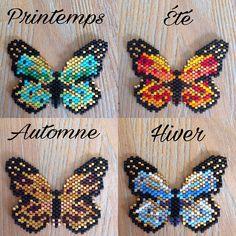 """268 Likes, 29 Comments - Audrey Cassiau (@8.mars_) on Instagram: """"Voila aujourd'hui j'ai eu envie de changer et j'ai adoré les papillons de @jolispois du coup je me…"""""""
