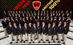 The mission of Urban Prep is to provide a comprehensive, high-quality college preparatory education to young men that results in graduates succeeding in college.