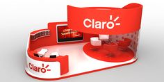 Claro stand @ Cali exposhow2013 on Behance