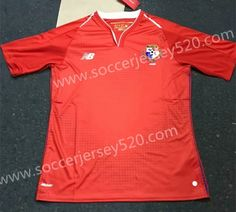 bc00ef251 2018 World Cup Panama Home Red Thailand Soccer Jersey AAA