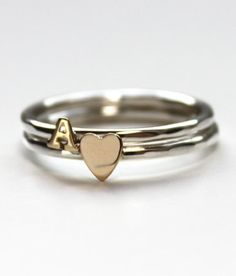 A+Heart Ring