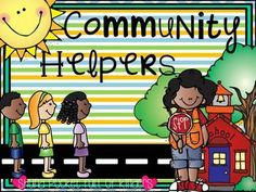 Community Helpers {Social Studies, Writing and Centers}