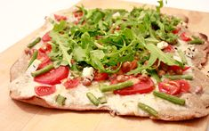 Weiße Pizza (Pizza bianca) mit Kokoscreme