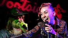 "Miley Cyrus performs ""Achy Breaky Heart"" with Billy Ray Cyrus on September Miley was promoting her album 'Younger Now' with a Spotify Fans First ev. Roy Orbison Songs, Billy Ray Cyrus, Miley Cyrus, Nashville, Fans, Live, Concert, Heart, Youtube"